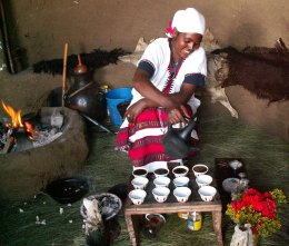 Ethiopie, cérémonie du café