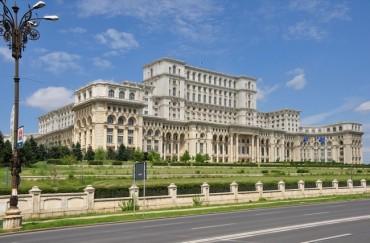 Bucarest, et son palais du Parlement